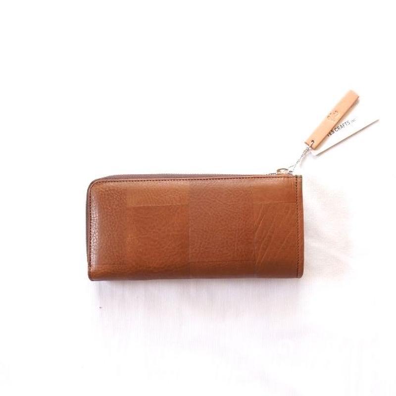 yes crafts(イエスクラフツ)/ SUKI-TSUGI LONG WALLET Brown