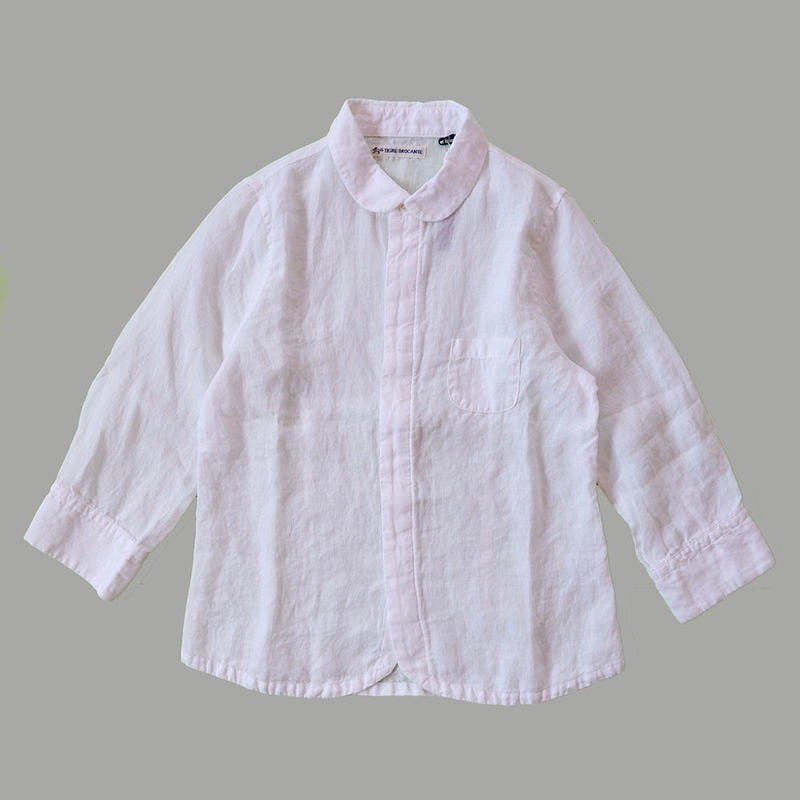 TIGRE BROCANTE(ティグルブロカンテ)/リネンエスプリ七分袖シャツ