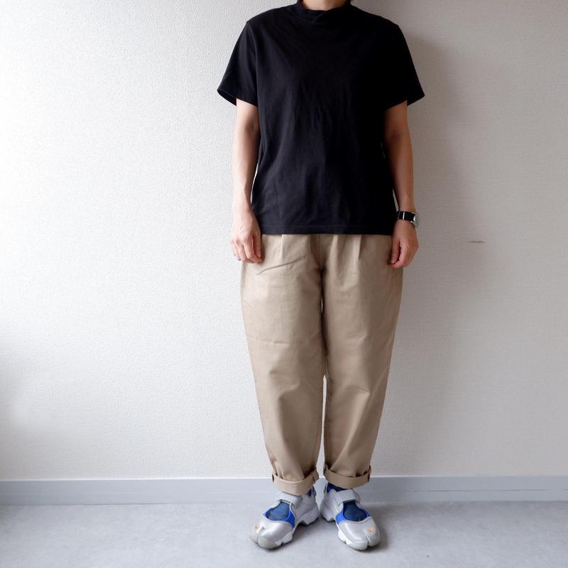 """""""秋の新作/新定番"""" HARVESTY (ハーベスティ)/CHINO EASY EGG LONG PANTS /ベージュ"""