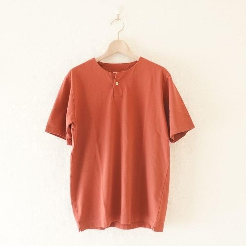 Jackman(ジャックマン) / Henleyneck T-shirt Old Maroon