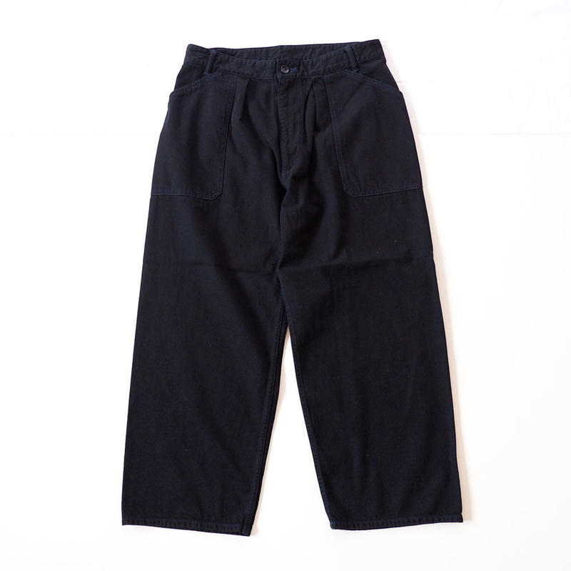 TIGRE BROCANTE(ティグルブロカンテ)/Travail Pants/10oz Denim/black