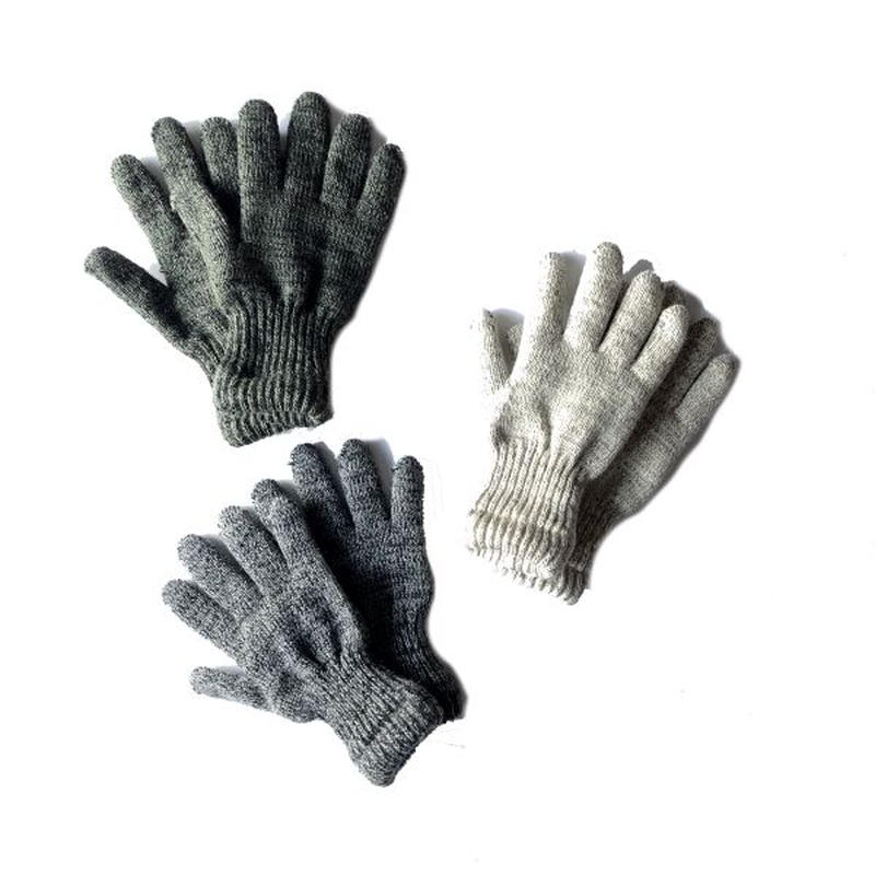 NEWBERRY KNITTING (ニューベリー ニッティング)/ Rag Wool Glove With Newtech