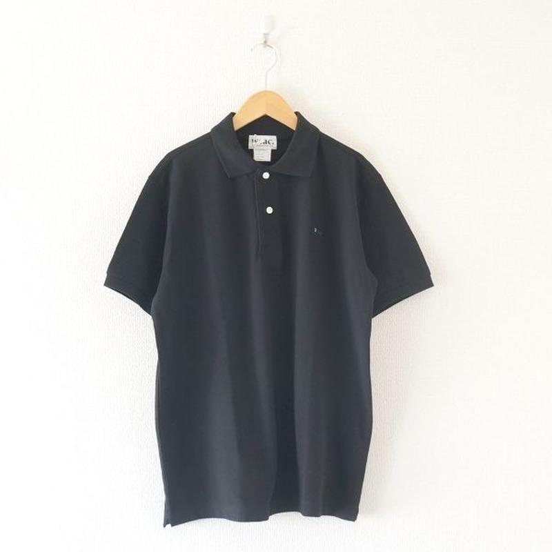 weac.(ウィーク)/パグちゃんポロシャツ  ブラック