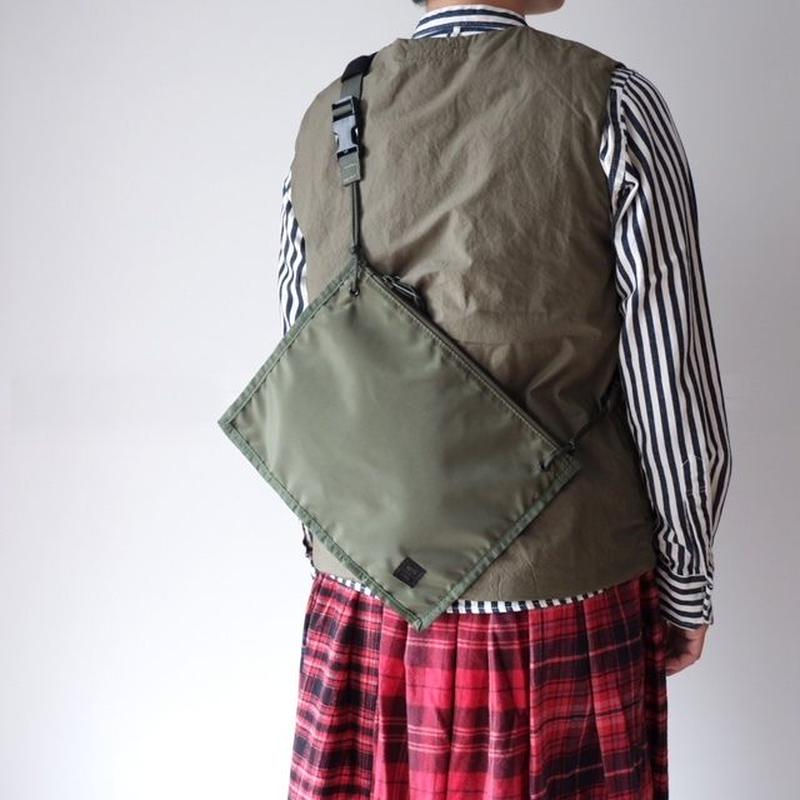 MIS(エムアイエス)  2WAY POUCH - OLIVE