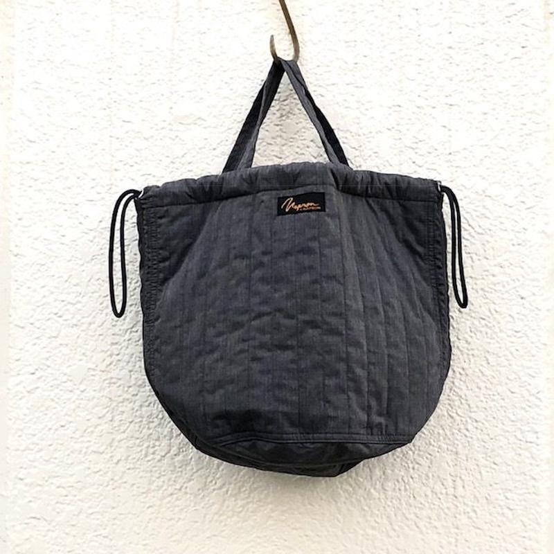 QUILTING PATIENTS BAG NAPRON/ charcoal