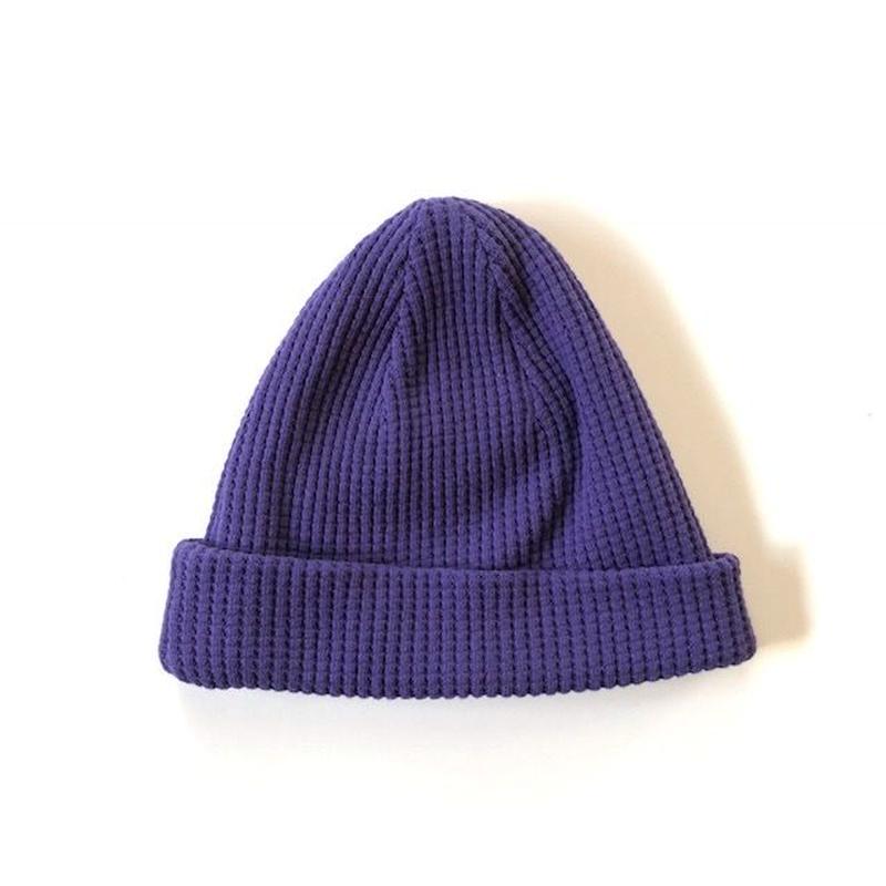 Jackman(ジャックマン)/ Waffle Knit Cap Purple