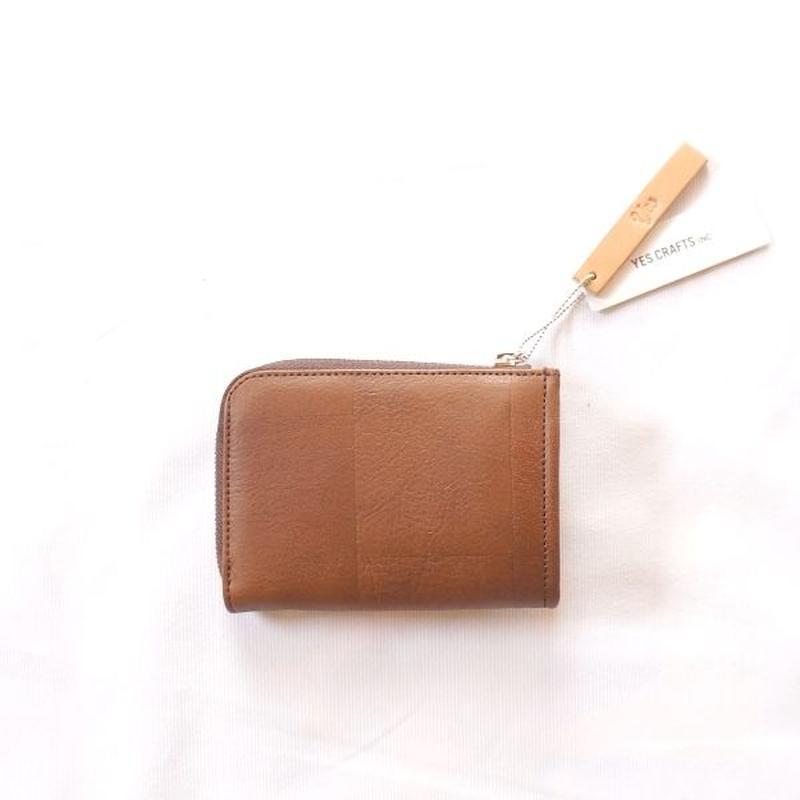 yes crafts(イエスクラフツ)/ SUKI-TSUGI SHORT WALLET Brown