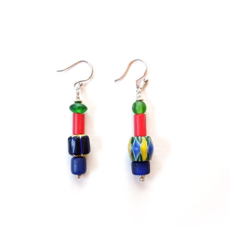 TIGRE BROCANTE(ティグルブロカンテ) /Glass Beads pierced