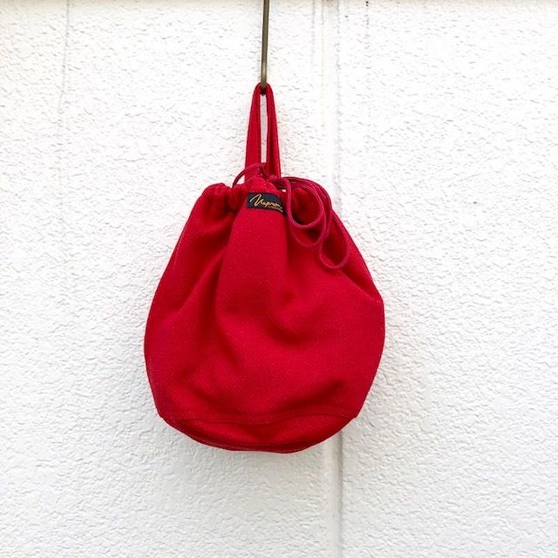 NAPRON(ナプロン)/ ARMY PATIENTS BAG -DOBBY- red
