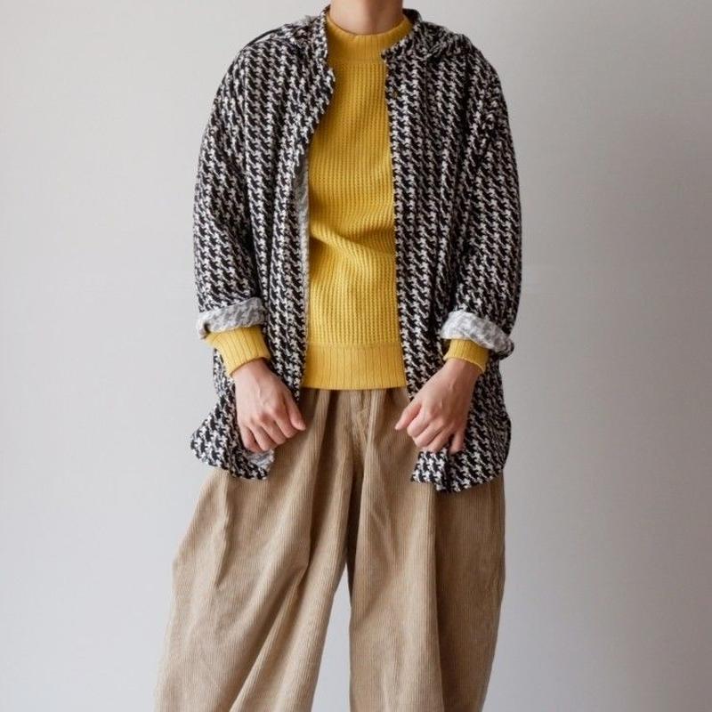 BRU NA BOINNE (ブルーナボイン) /ターザンパーカーシャツ
