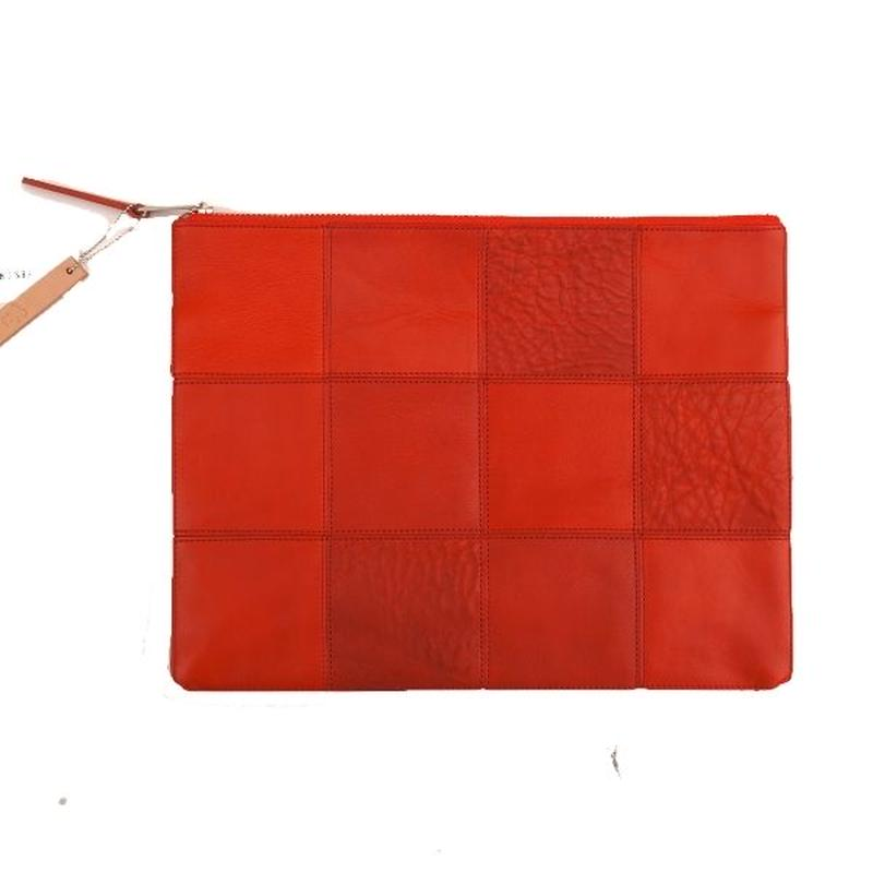 yes crafts(イエスクラフツ)/ SQUARE POUCH L  レッド(2)