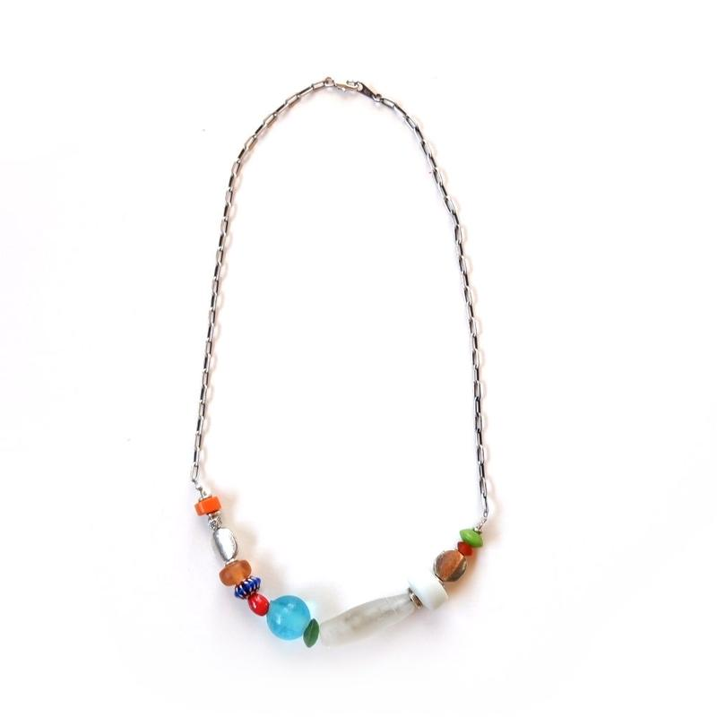 TIGRE BROCANTE(ティグルブロカンテ) /Glass Beads necklace
