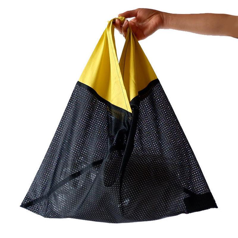 AZUMA BAG(アズマバッグ)/MESH/black×yellow