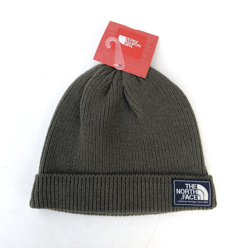 USA NORTH  FACE  / BEANIE/khaki