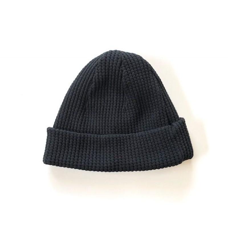 Jackman(ジャックマン)/ Waffle Knit Cap  Black