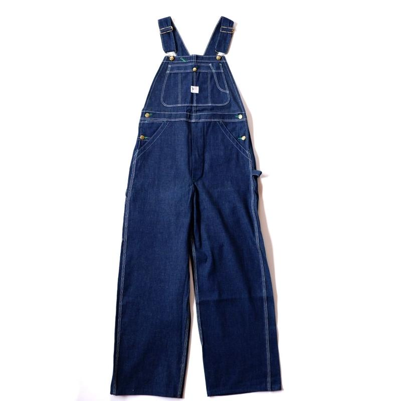 60s BIGBUCK/ overall/Lowback /dead stock/usa
