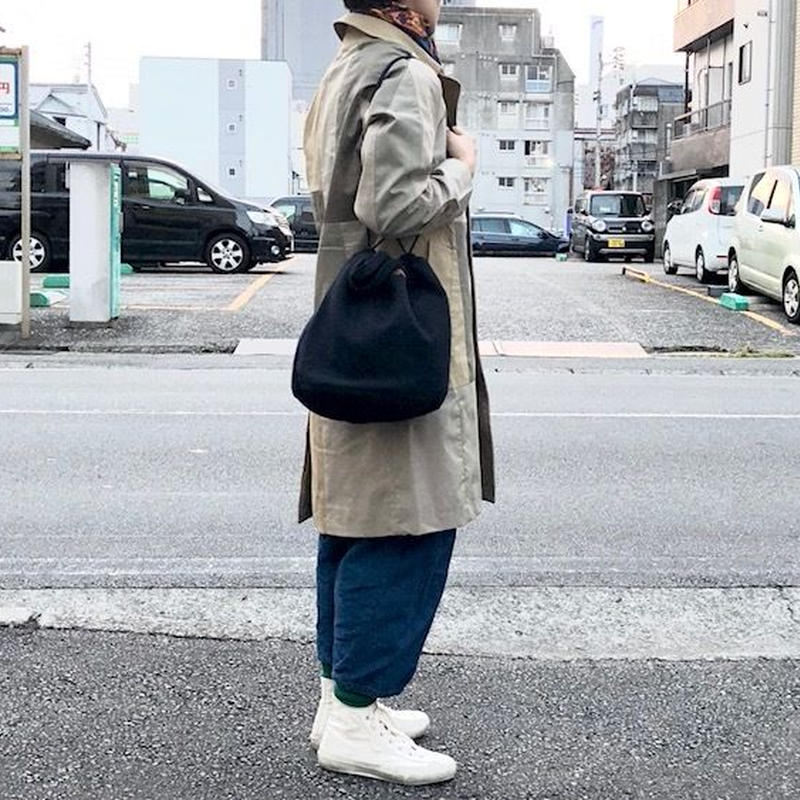 NAPRON(ナプロン)/ ARMY PATIENTS BAG -DOBBY- navy