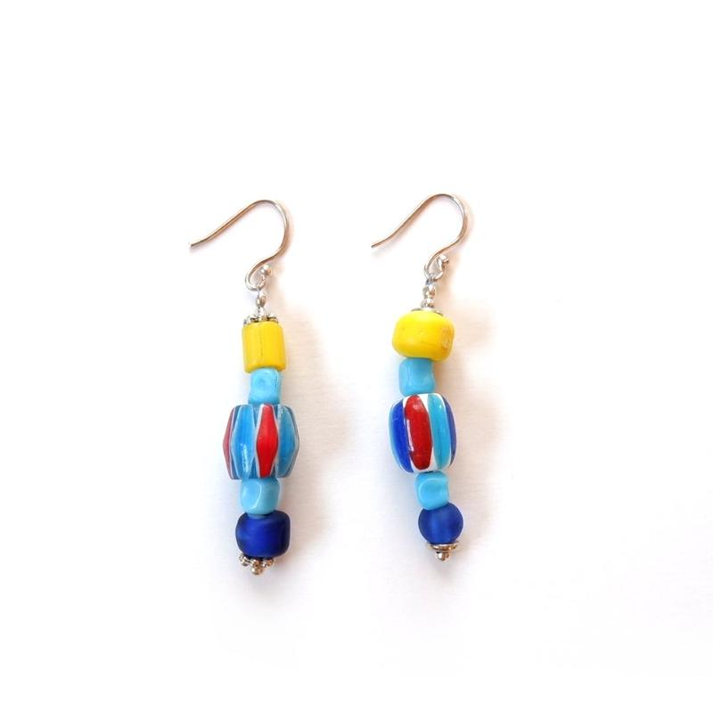TIGRE BROCANTE(ティグルブロカンテ) /  Glass Beads pierced