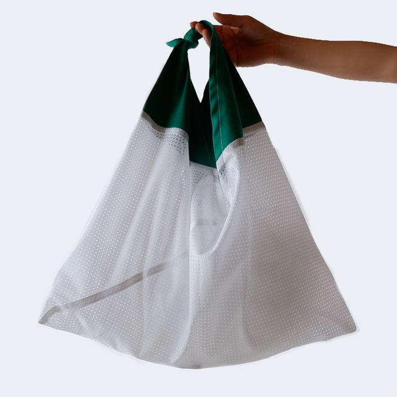 AZUMA BAG(アズマバッグ)/MESH/white×green