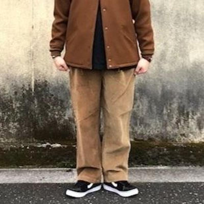 "Sunny side up(サニーサイドアップ)/Unisex Remake 2 For 1 ""Codyroy Trousers ""brown size4-1"