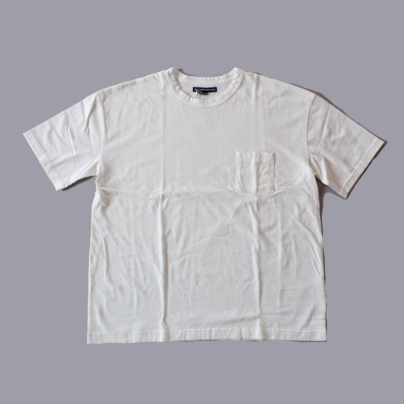 TIGRE BROCANTE (ティグルブロカンテ)/天竺ベニスビーチTシャツ/ホワイト