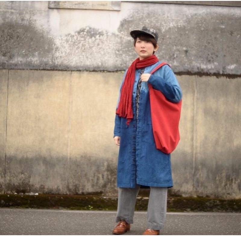 TIGRE BROCANTE(ティグルブロカンテ)段染めドクターシャツコート