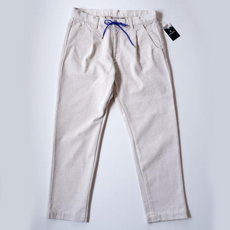 ANASOLULE (アナソルール)Peggy /trousers pants/Ivory