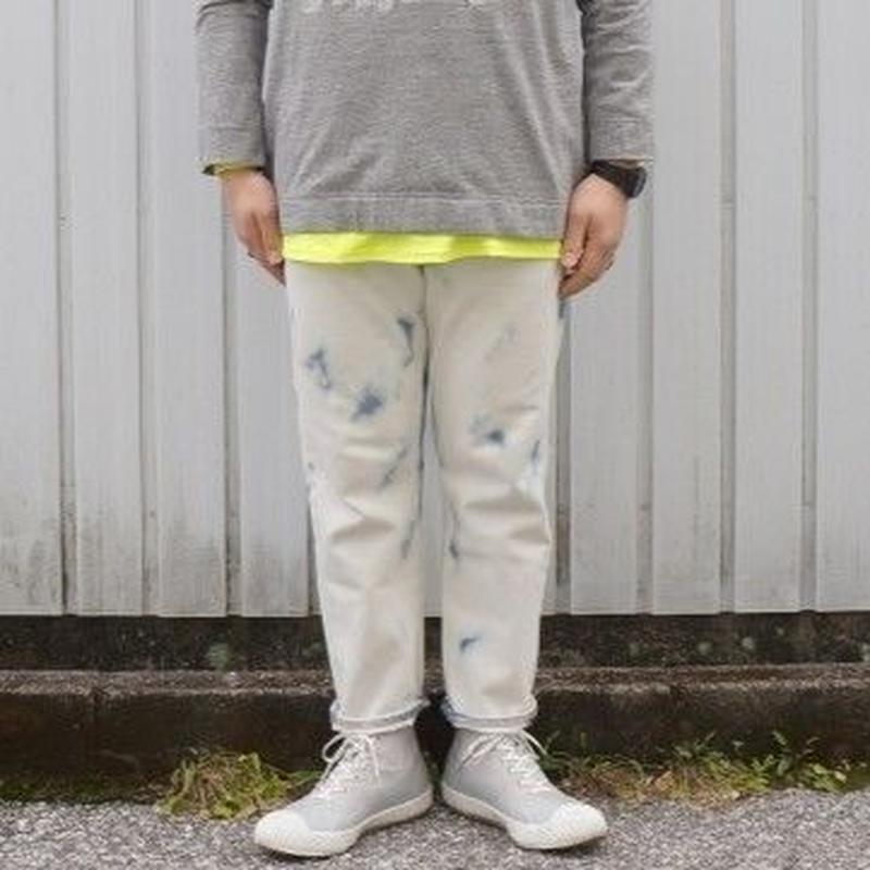 Sunny side up(サニーサイドアップ)/ remake bleach denim pants size4