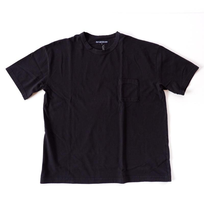 TIGRE BROCANTE (ティグルブロカンテ)/天竺 ベニスビーチTシャツ/ブラック