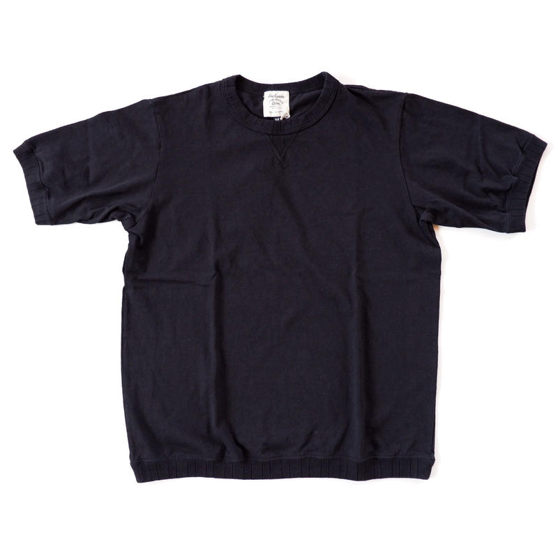 Jackman(ジャックマン)/US Cotton Rib T-Shirt/Black