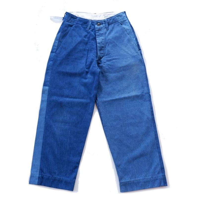 Sunny side up(サニーサイドアップ)/ remake denim trousers (3)