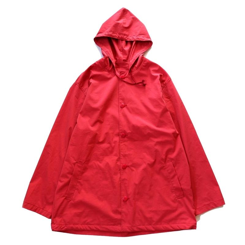 Jackman(ジャックマン/Hooded Coach Jacket/red