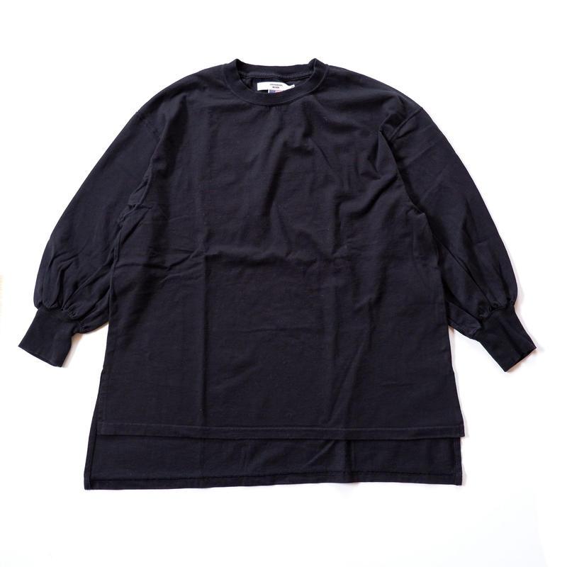 UNIVERSAL TISSU (ユニバーサルティシュ)/BIG PULLOVER/Black