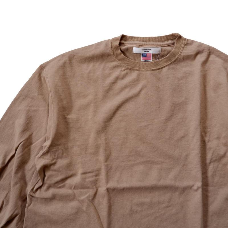 UNIVERSAL TISSU (ユニバーサルティシュ)/BIG PULLOVER/beige