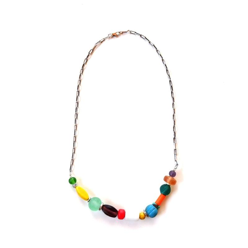 TIGRE BROCANTE(ティグルブロカンテ) /  Glass Beads necklace