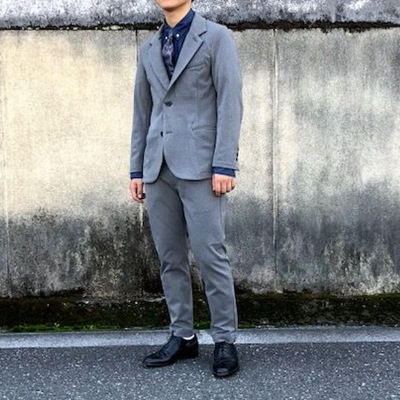 KAFIKA (カフィカ)/THERMOLITE TWILL TAILORED JACKET グレー