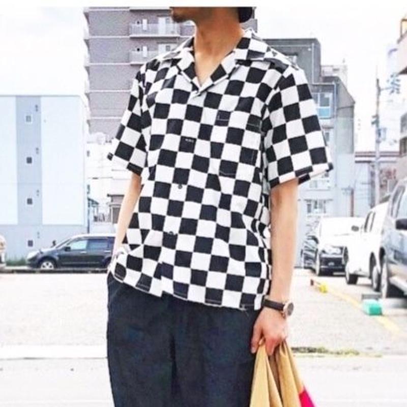 SOULIVE(ソウライブ)/FLAG SHIRT/市松柄
