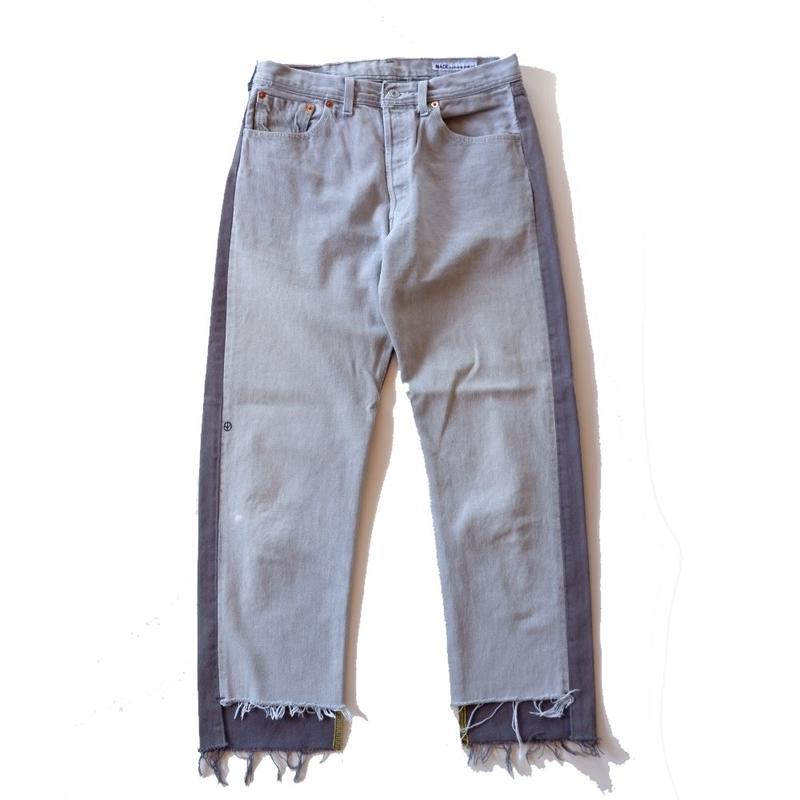 Sunny side up(サニーサイドアップ)/2 for 1 Front Low Black Denim /size:M/3-B