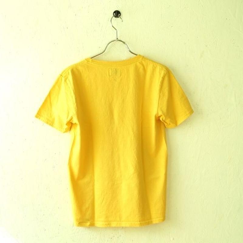 RIDING HIGH(ライディングハイ) / 無地Tシャツ SMOKE YELLOW