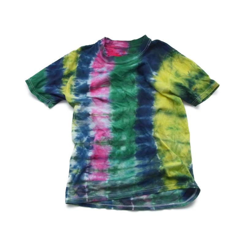 used tie-dye t-shirt