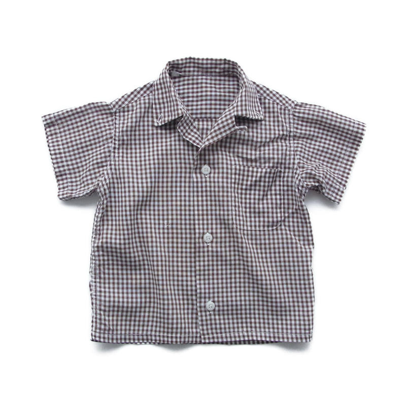 vintage gingham check shirt