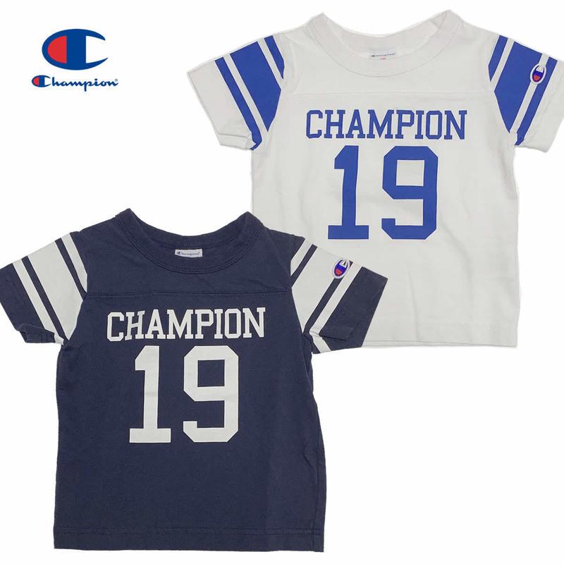 (チャンピオン)Champion KIDS FOOTBALL TEE (CS4960)
