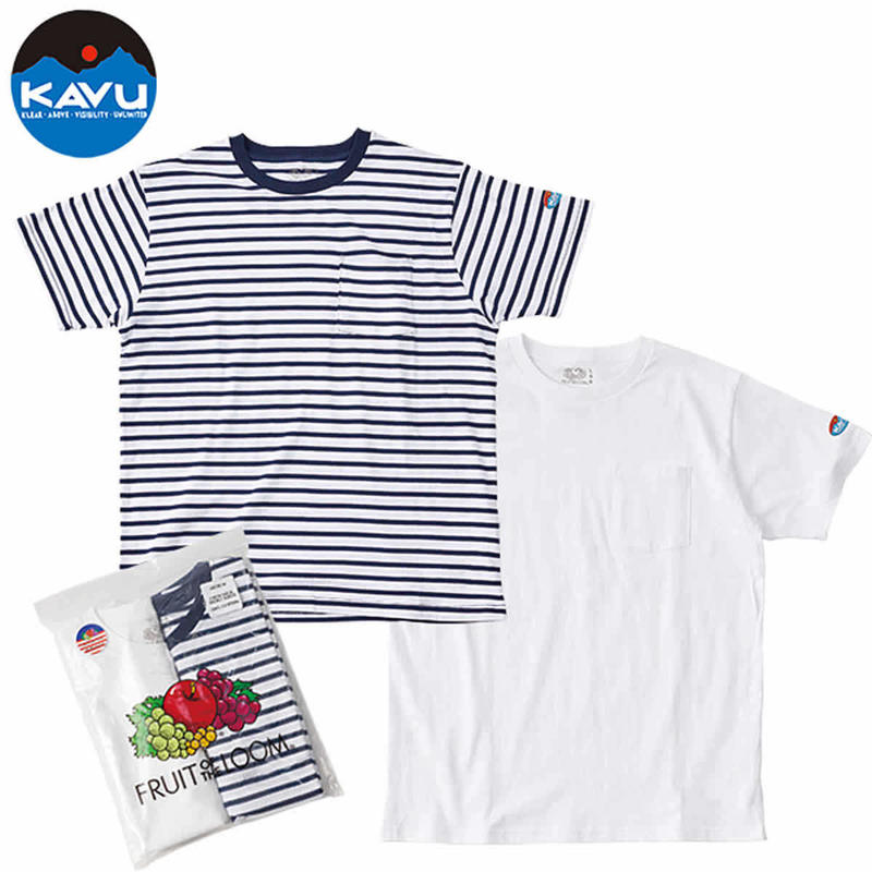 (カブー)KAVU Men's PAC TEE