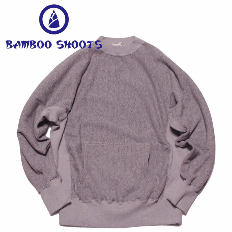 (バンブーシュート)BAMBOO SHOOTS R.W. Mockneck Sweat
