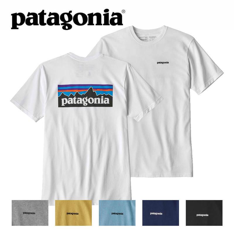 (パタゴニア)Patagonia Mens P-6 Logo Responsibili Tee