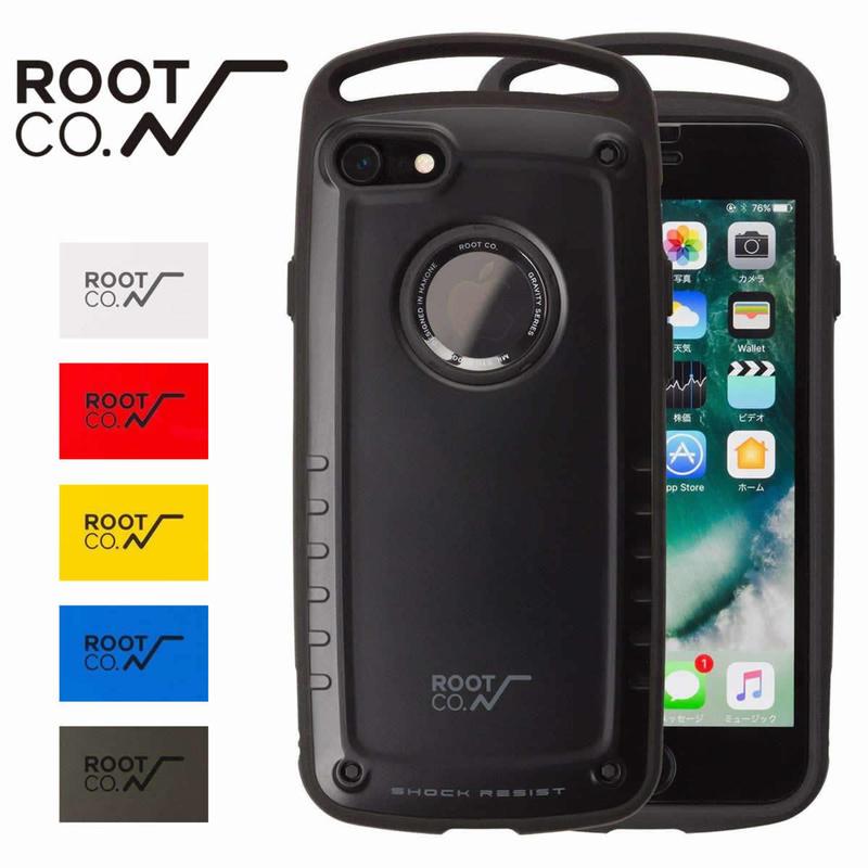 (ルート)ROOT CO. GRAVITY Shock Resist Case Pro. iPhone7/8 ケース 耐衝撃