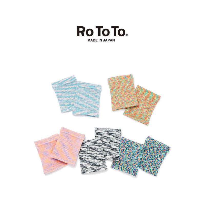 """(ロトト)RoToTo Foot Band """"KASURI"""" フットバンド """"カスリ"""""""