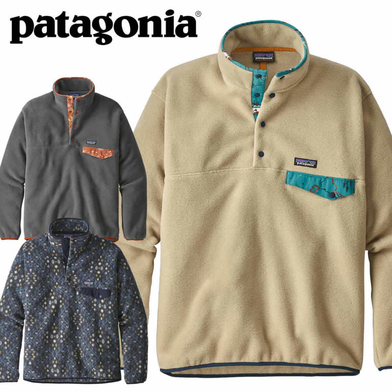 (パタゴニア)Patagonia Mens Light Weight Synchilla Snap-T Pullover