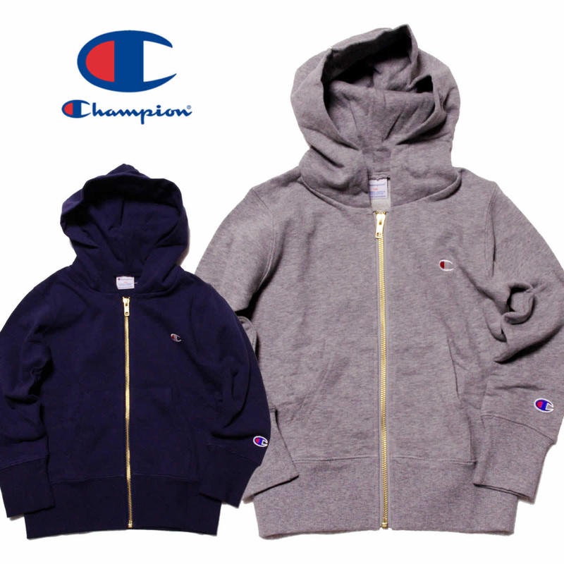 (チャンピオン)Champion KIDS ZIP HOODIE (CS4999)
