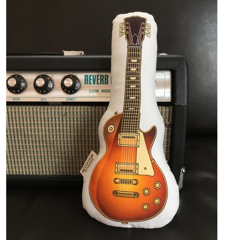 またたびロックンロール ギター(ブラウン)